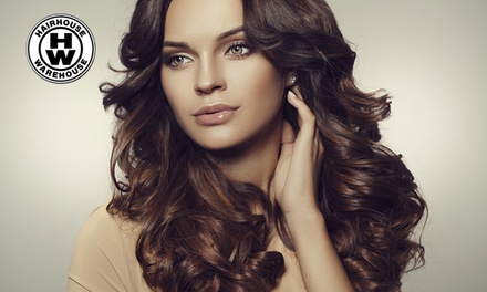 Men's Cut $19, or Cut and BlowWave $29 with Full Colour $99 at Hairhouse Warehouse QV Up to $170 Value