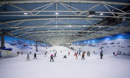 Forfait de esquí para 1 o 2 personas con opción a alquiler de equipo en SnowZone (hasta 46% de descuento)