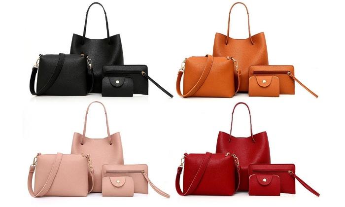 4er Set Damen Taschen | Groupon Goods
