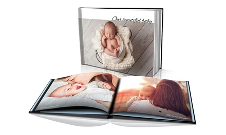 .99 for a Personalised Soft or Hardcover Photobook Don't Pay up to $174.99
