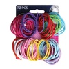 Goody Ouchless No-Metal Gentle Hair Elastics (72-Pack)