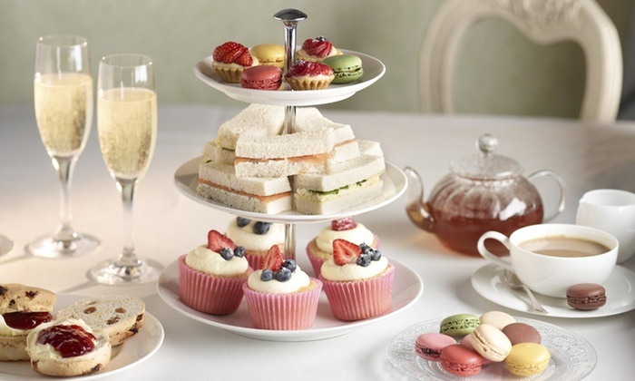 Traditional Afternoon Tea for Two or Sparkling Tea for Two or Four at Doubletree Hilton Hotel Coventry
