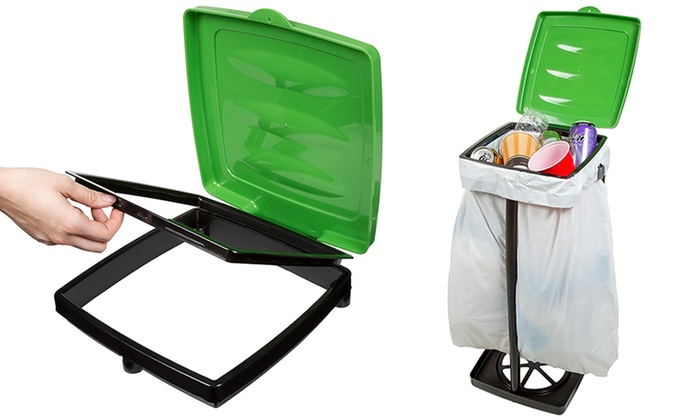 Wakeman Outdoors Portable Garbage Trash Bag Holder