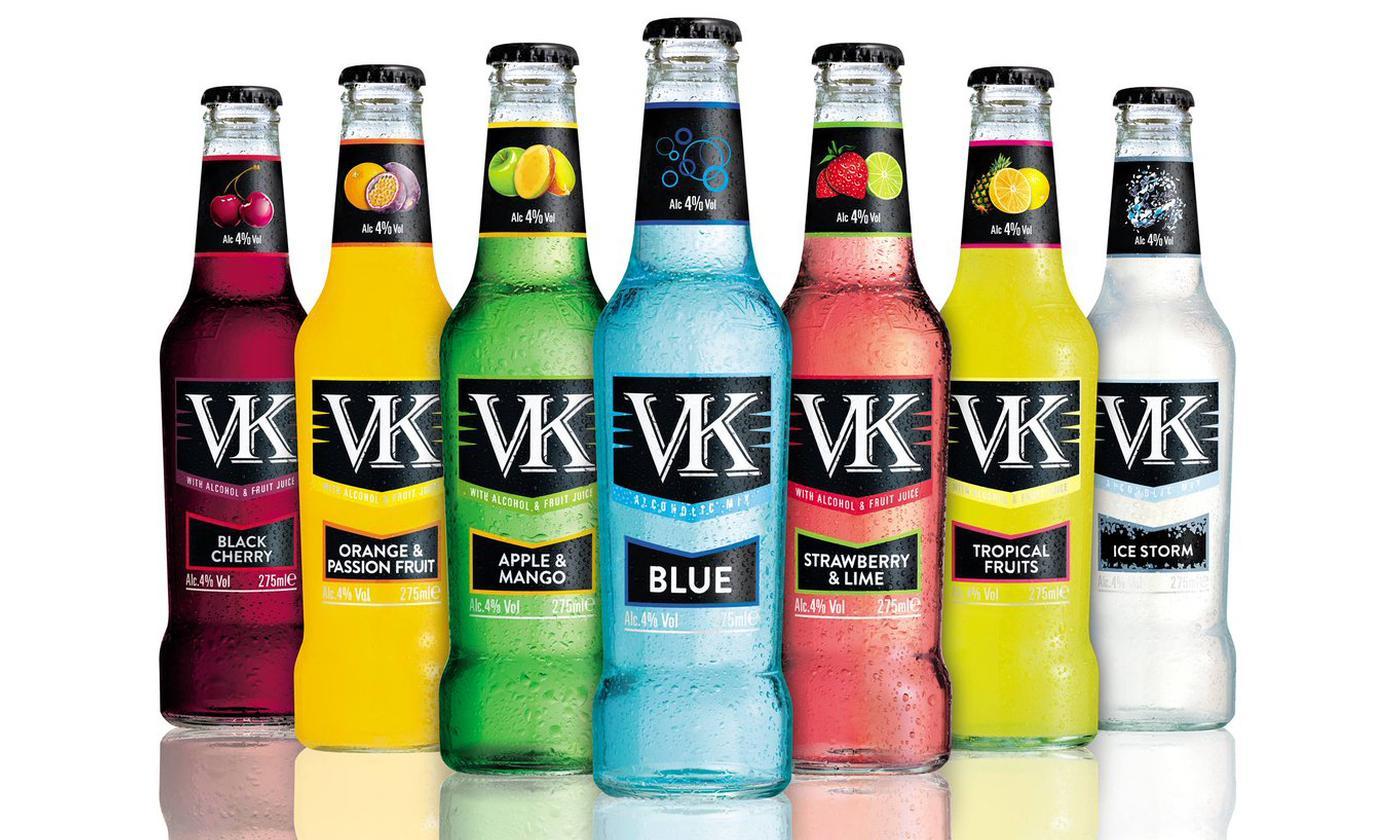 12-Piece VK Cocktail Mix 275ml