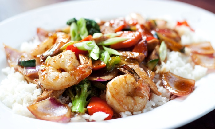 Hibachi Express - Huntsville: $6 for $12 Worth of Pan-Asian Cuisine at Hibachi Express