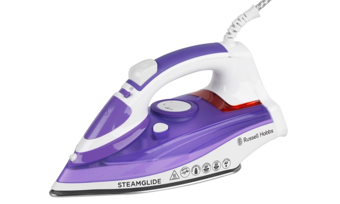 russell hobbs steamglide iron groupon goods. Black Bedroom Furniture Sets. Home Design Ideas