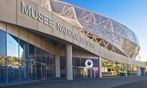 Musée National du Sport: 1 entrée pour adulte avec visite guidée du Musée National du Sport et du stade Allianz Riviera à 10 €