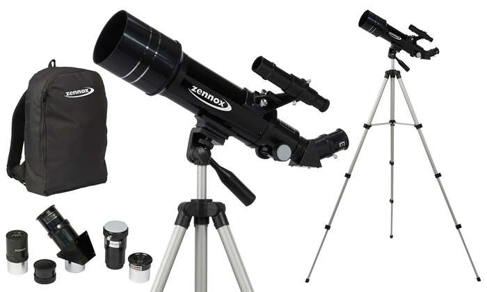 Groupon Goods Global GmbH: 70mm x 400mm Zennox Travel Telescope With Free Delivery