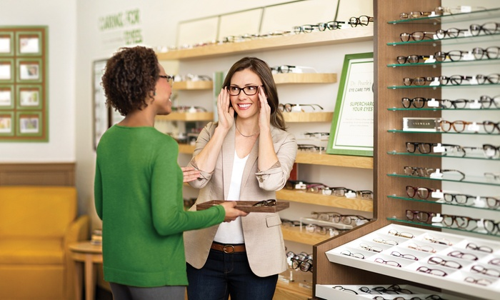 Pearle Vision - Multiple Locations: $40.50 for $225 Worth of Complete Pair of Prescription Glasses or Sunglasses at Pearle Vision