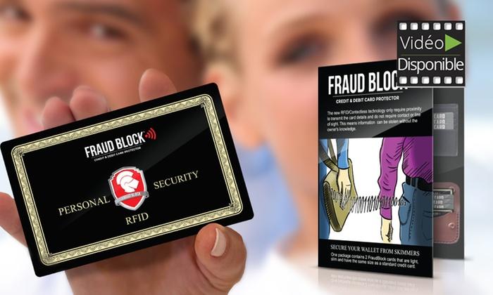 Dispositivo antifrode per carte
