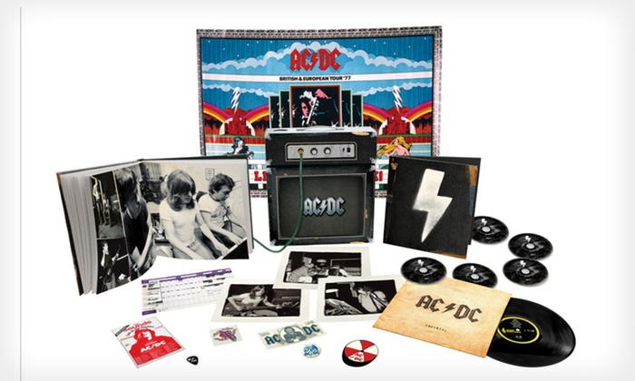AC/DC Backtracks Amp Collector's Set: $89.99 for an AC/DC Backtracks Deluxe Collector's Edition Amp Set ($199.99 List Price). Free Shipping and Free Returns.