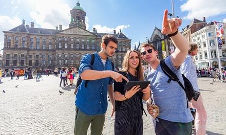 Ontdek Amsterdam via spannende challenges voor 3 tot 9 personen