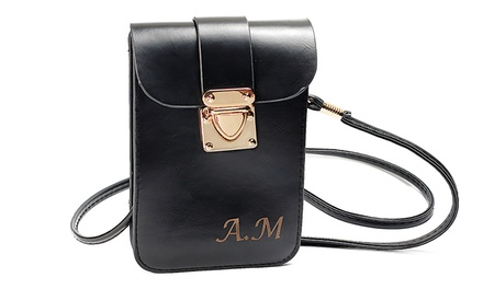 Vintage Leather Bag with Three Initials, First Name, or Monogram from MonogramHub.com (Up to 88% Off)