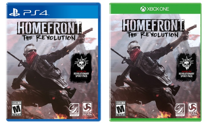 Homefront: The Revolution for XBox One and PS4