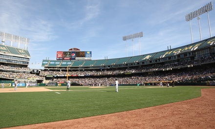 Oakland A's Baseball Game at O.co Coliseum on April 8, 10, or 26 (Up to 47% Off)