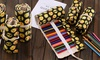 Rangeela General Trading L.L.C: One or Two Emoji Colour Pencil Rolls: 36 or 48 Pieces from AED 39