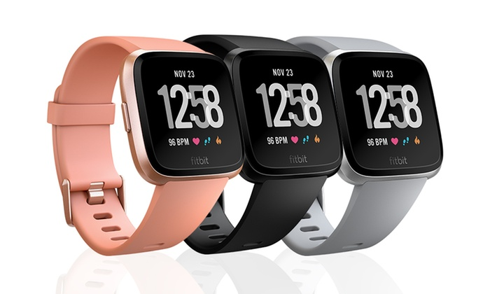 Up To 22% Off Fitbit Versa Sports Watch | Groupon