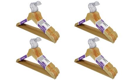 Pack de 16 o 32 perchas de maderaJocca