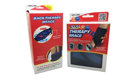 Acu-Life Knee, Elbow, Ankle, Wrist and Back Hot/Cold Therapy Brace Bundle With Free Delivery
