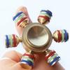 LAX Metallic Fidget Spinner Toy (1-Pack)