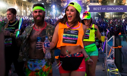 $29 for Entry to a Nighttime 5K Music Festival from Night Nation Run: Saturday, June 24 ($60 Value)