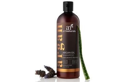 Art Naturals Organic Argan Oil Shampoo for Hair Regrowth (16 Oz.)