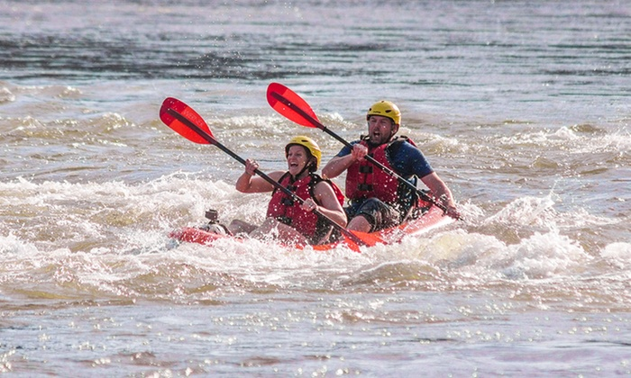 Calleva - Carderock: $69 for Four-Hour Whitewater Duckie Tour for One Adult from Calleva ($125 Value)