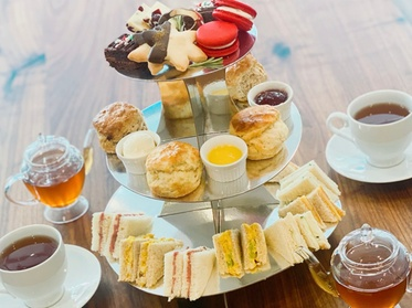 Tea Party for Two or Four or Six at Babe's Tea Room (Up to 30% Off). Three Options Available.