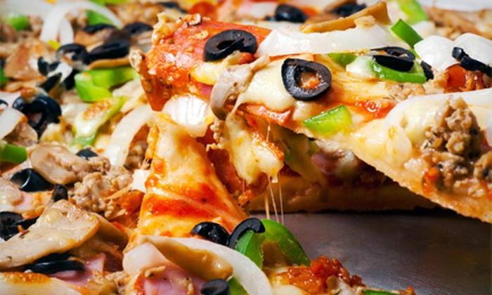 Bravos Pizza & Italian Restaurant - Pittsburg: Pasta Dinner and Drinks for Two or Four or $10 for $20 Worth of Pizzeria Food at Bravos Pizza & Italian Restaurant