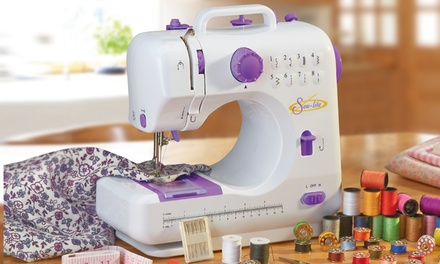 Sew-Lite Compact Sewing Machine with Accessories