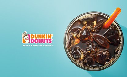 image for 100% Cash Back at Dunkin' Donuts - up to $3