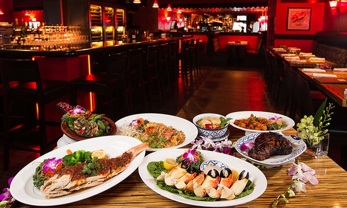 Up To 27 Off Thai Cuisine At E
