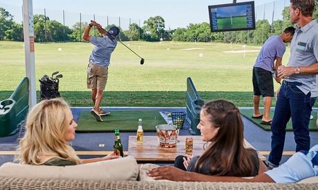 Golf Toptracer Range Fun auf der Driving Range inkl. Essen und Getränk bei Pulheim GolfCity
