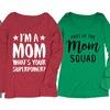 Women's Long-Sleeve Mom Tees