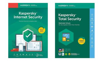 Kaspersky Internet Security 2021 od. Total Security 2021 für 2 Jahre