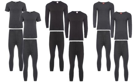 Men's Thermal Underwear Sets Available in One or Two Pack Sets from £4.99