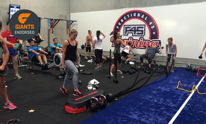 Four Weeks of Unlimited F45 Group Training - One ($19) or Two People ($35) at F45 Training, Westmead (Up to $528 Value)