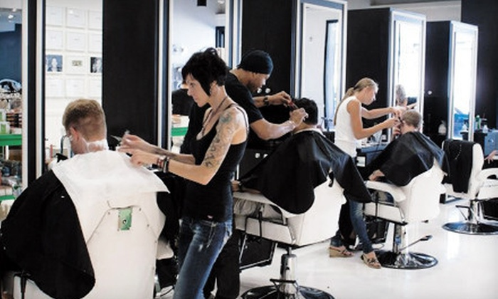 minibar.ber.shop - North Scottsdale: One or Two Men's Scissor Cuts or Hot-Towel Shaves and Eyebrow Trims with Beer at minibar.ber.shop (Up to 55% Off)