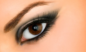 The Sanctuary Spa: Eyelash and Eyebrow Tinting at The Sanctuary Spa (Up to 43% Off). Four Options Available.