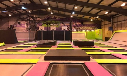 One-Hour Trampoline Park Entry for One, Two or Four at Rebound Revolution (35% Off)