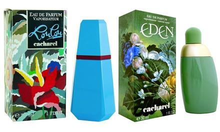 Eau de toilette Cacharel : LouLou ou Eden en spray de 30 ml à 27,90€ (jusqu'à 48% de réduction)