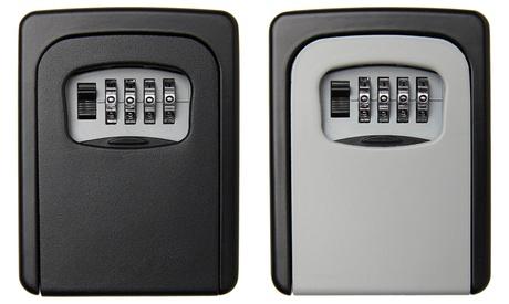 Caja de seguridad para llaves con combinación