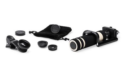 1 o 2 sets de palo selfie con lentes de efectos