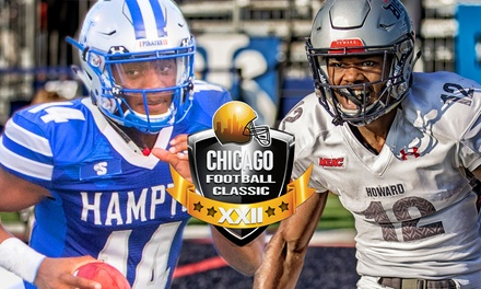 Chicago Football Classic: Hampton Pirates v. Howard Bison on Saturday, September 14, at 3:30 p.m.