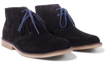 Men's Black Suede Chukka Boots
