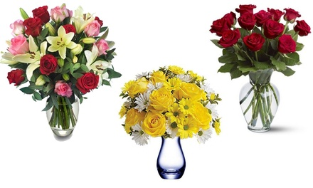 £30 or £50 to Spend on Flowers and Gifts at Flowers Delivery 4 U
