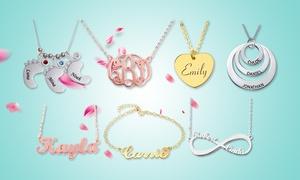 Bijoux en argent personnalisables