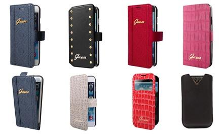 Guessbeschermhoesje voor Samsung Galaxy en iPhone 5/5S/6/6S/6+ vanaf € 5,99 tot korting
