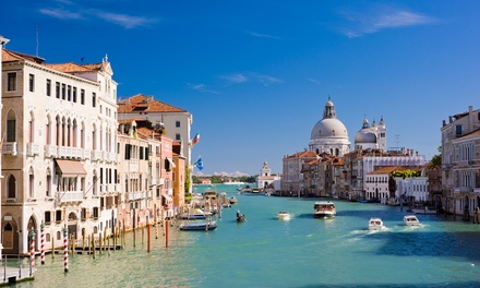 ✈ Venice: 24 Nights at a Choice of Hotels with Flights*
