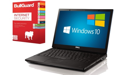 Refurbished Dell E6510 4GB or 8GB Laptop with Optional Bullguard Antivitus With Free Delivery